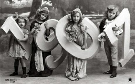 Happy New Year, 1907