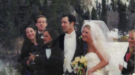 The photo of a happy wedding party, lost at Ground Zero on September 11, 2001, belonged to X.